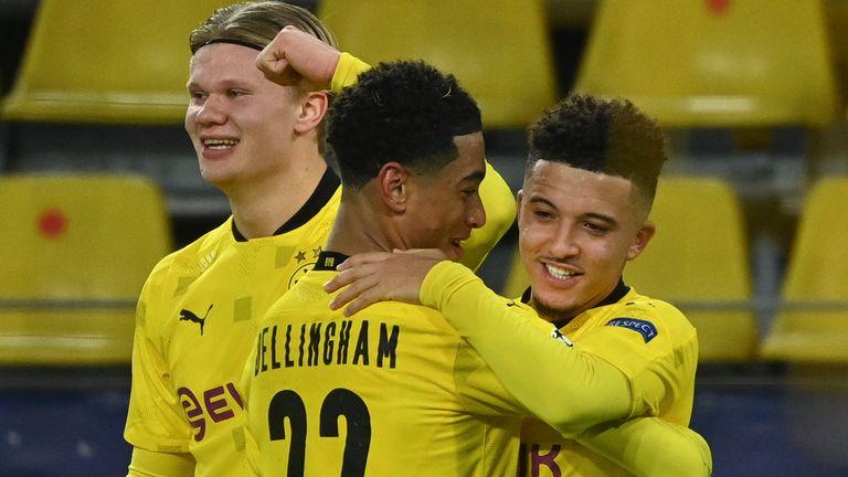 Erlling Haaland and Jadon Sancho scored for Borussia Dortmund