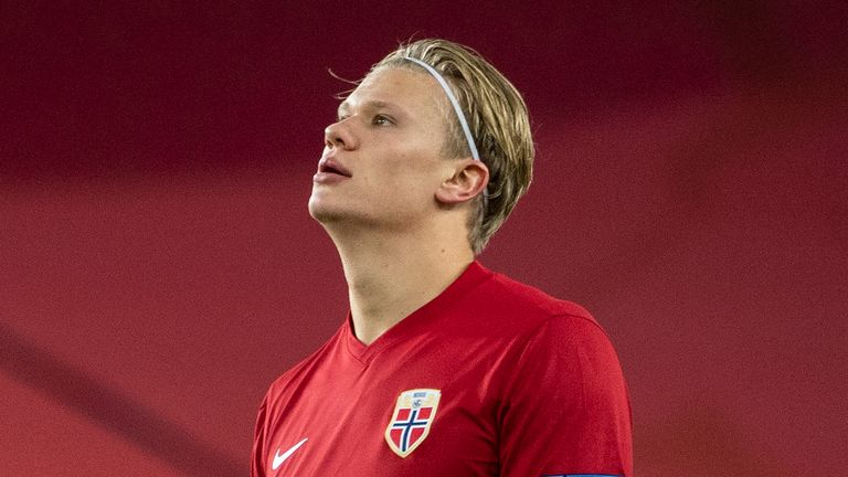 Erling Haaland is expected to miss Norway's game against Austria after the entire squad was told to isolate after a positive test for the virus was recorded