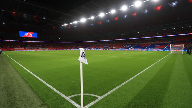 Wembley stadium is due to host a number of Euro 2020 fixtures, including the semi-finals and final