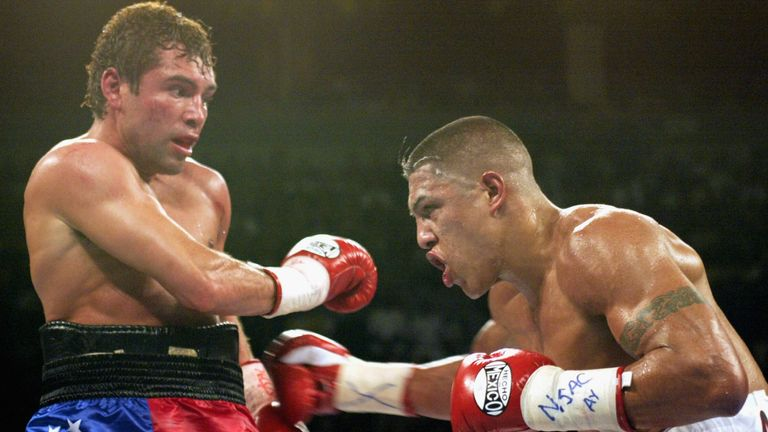 Vargas and De La Hoya settled their feud in a 2002 fight