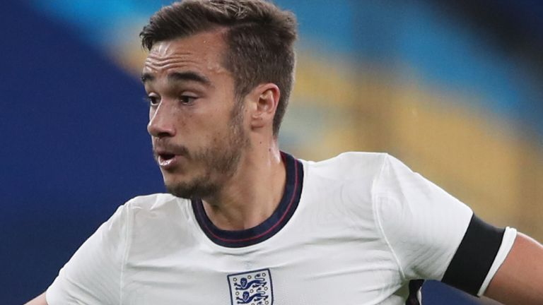 England midfielder Harry Winks