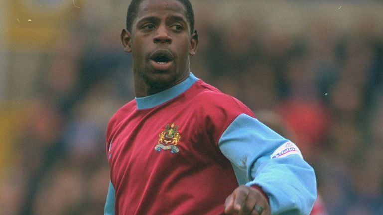 Len Johnrose pictured playing for Burnley in 2000
