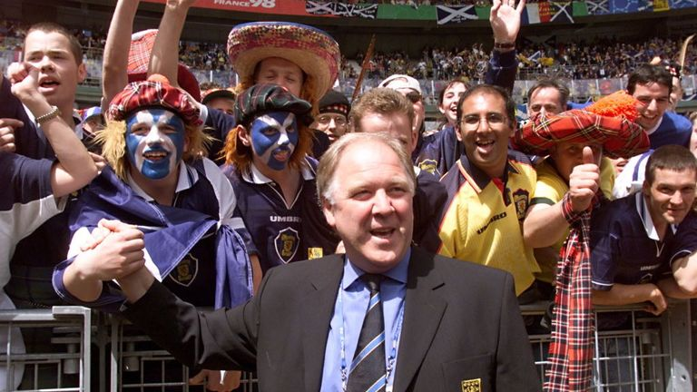 Scotland fans haven't been to a major tournament since Craig Brown led the team to the France 98 World Cup
