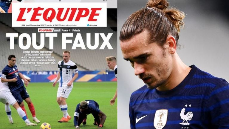 Everything that could go wrong did for France, according to L'Equipe