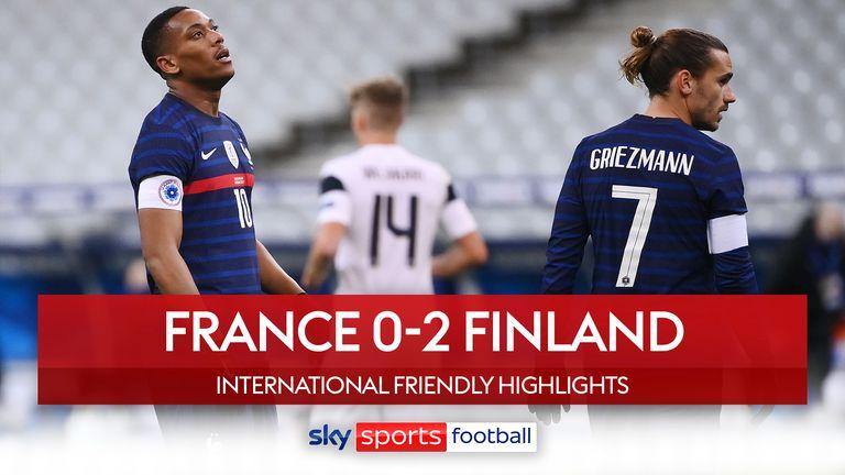 France 0-2 Finland