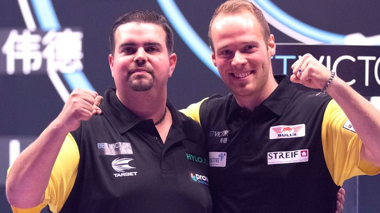 Gabriel Clemens and Max Hopp led Germany to the semi-finals in 2020, after they dumped out four-time winners Netherlands