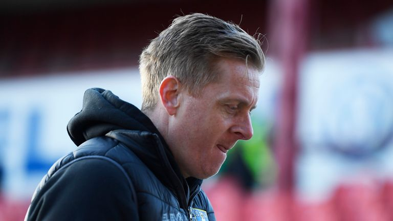 Garry Monk was sacked by Sheffield Wednesday after picking up three wins from 11 league matches this term