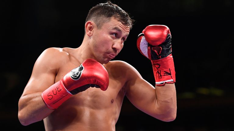 Gennady Golovkin last fought in October 2019
