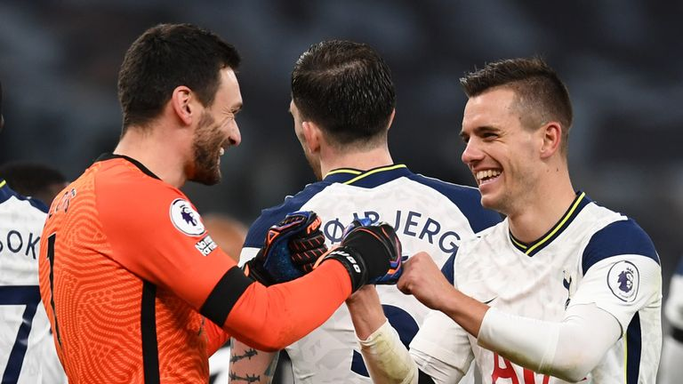 Substitute Giovani Lo Celso capped a fine rearguard victory for Spurs