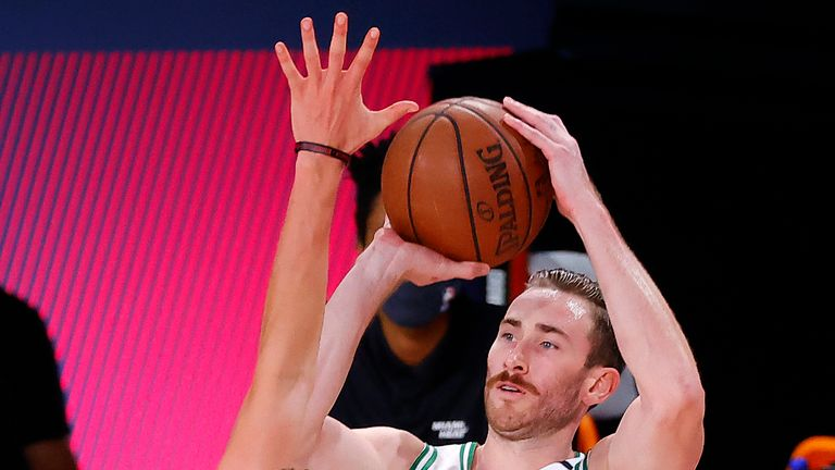 Hayward helped the Boston Celtics reach the Eastern Conference Finals in 2019/20