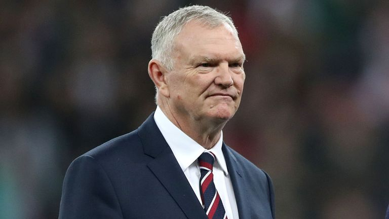 Former FA chairman Greg Clarke before an International Friendly at Wembley Stadium in 2018