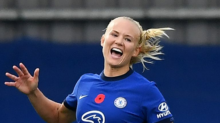 Pernille Harder became women's football's most expensive signing after joining Chelsea from Wolfsburg this summer
