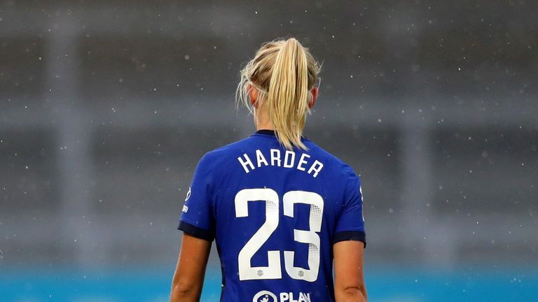 Harder believes more television coverage of the women's game can make players like her household names and idols to more young girls