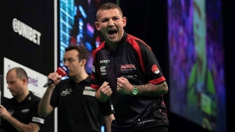 Waites faces a tough test against sixth seed Aspinall, a runner-up in this year's Premier League