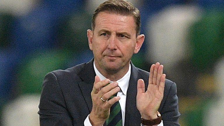 Northern Ireland boss Ian Baraclough