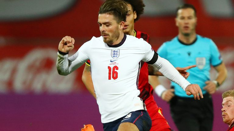 Jack Grealish impressed on his first competitive start for England