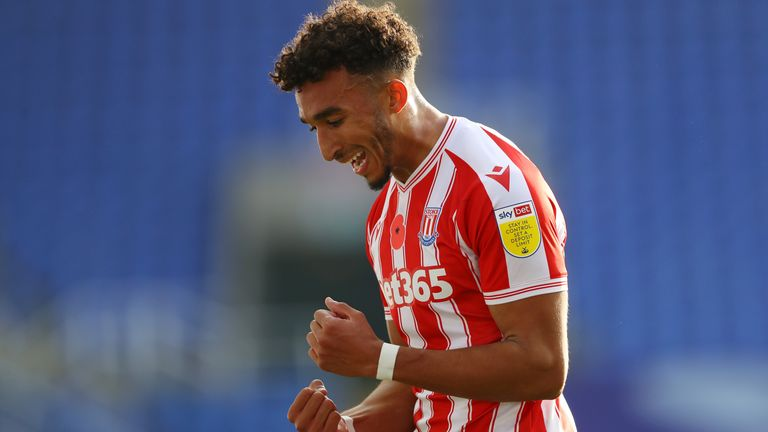 Jacob Brown scored Stoke's third to seal the win