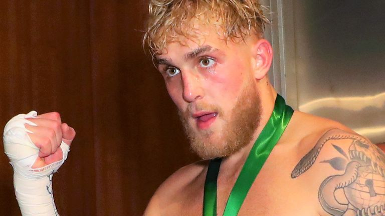 Jake Paul named Conor McGregor on a list of potential opponents