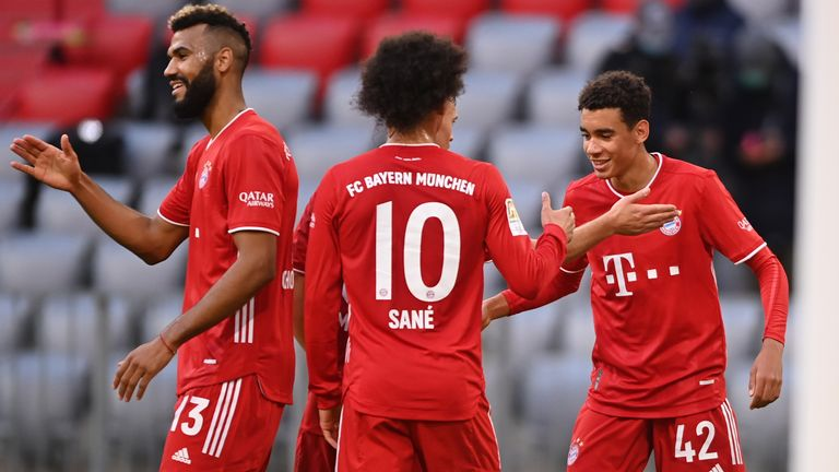 Musiala has already scored twice for Bayern Munich's first-team, having only made one start for the club