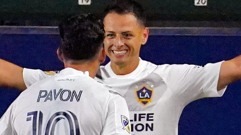 Javier Hernandez scored for LA Galaxy but they were held to a draw (Pic: USA Today/MLSsoccer)