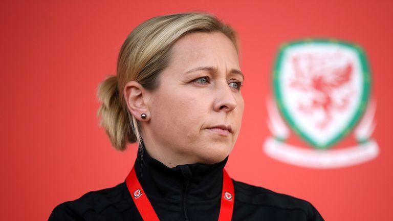 Wales Women Leader Jayne Ludlow
