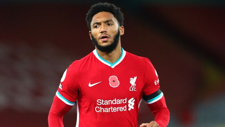 Joe Gomez: Liverpool able to claim money from FIFA for injured defender's wages | Football News | Sky Sports