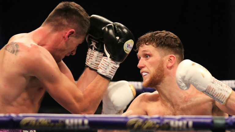 Docherty made an aggressive start to the fight