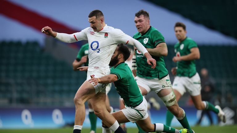 Jonny May's second try was one of his best in an England jersey