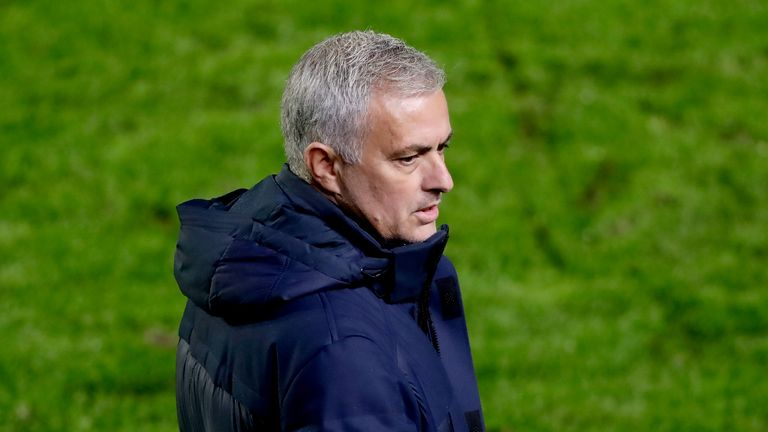 Jose Mourinho was deemed responsible for Tottenham's late kick-off in Antwerp last month