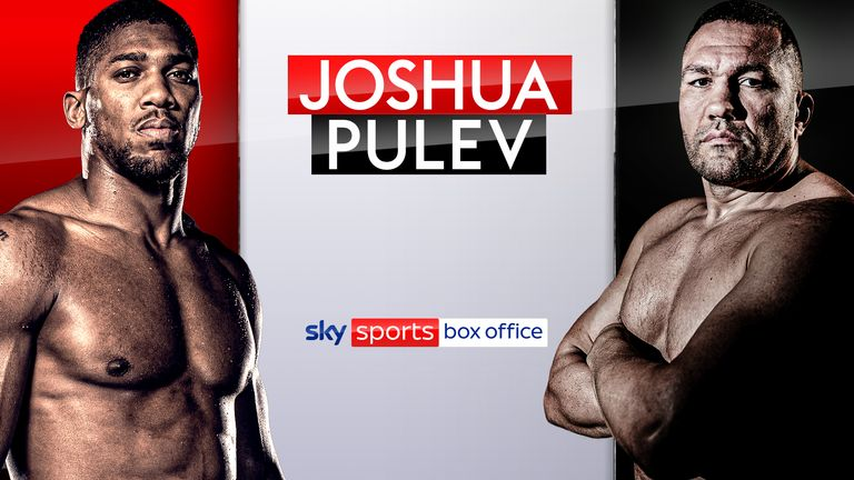 Anthony Joshua vs Kubrat Pulev is live on Sky Sports Box Office