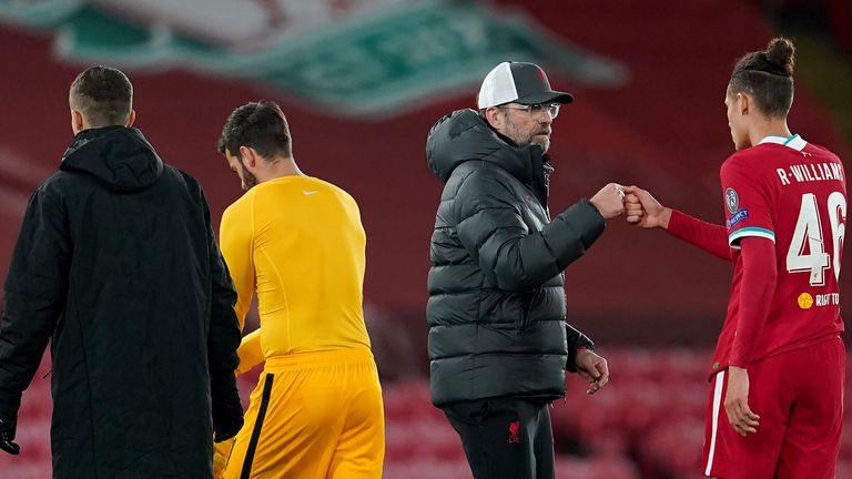 Liverpool boss Jurgen Klopp refused to get carried away by the setback
