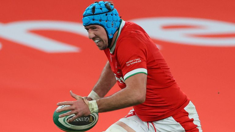 Justin Tipuric will be hoping to lead Wales to a convincing win over Georgia
