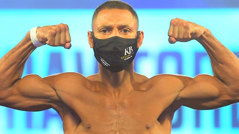Kell Brook made the welterweight limit for WBO title fight with Terence Crawford