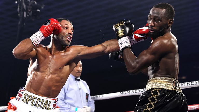 Crawford vs Brook: Terence Crawford stops Kell Brook in fourth round of  world welterweight title fight | Boxing News | Sky Sports