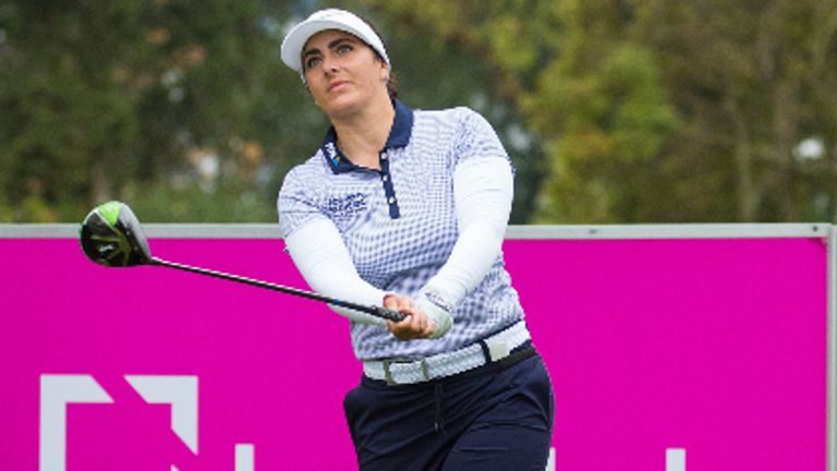 Kelsey MacDonald posted four birdies during her opening round