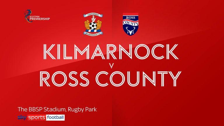 Kilmarnock v Ross County badge