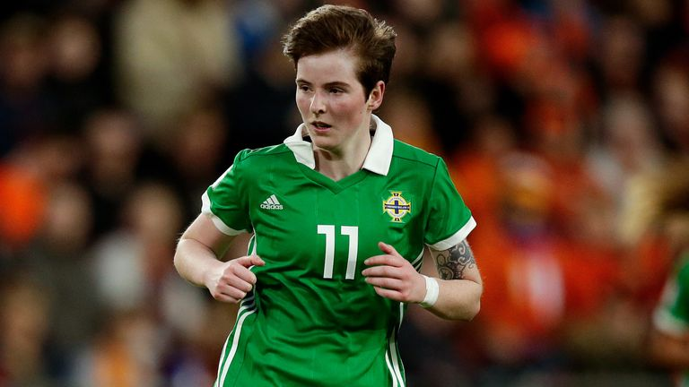 Kirsty McGuinness starred in Northern Ireland's win