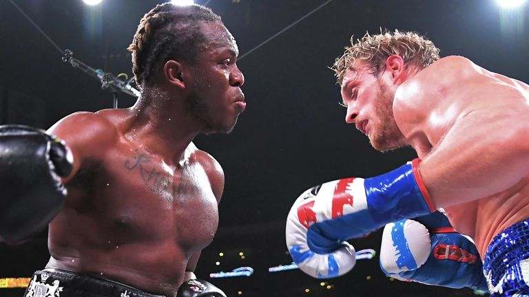 Logan Paul lost his boxing debut to KSI