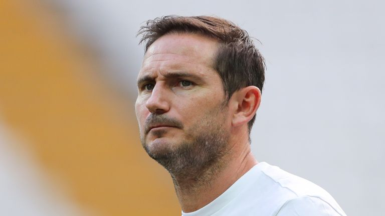 Frank Lampard says he has already thought about changes to Chelsea's training due to concerns over heading and potential links to dementia
