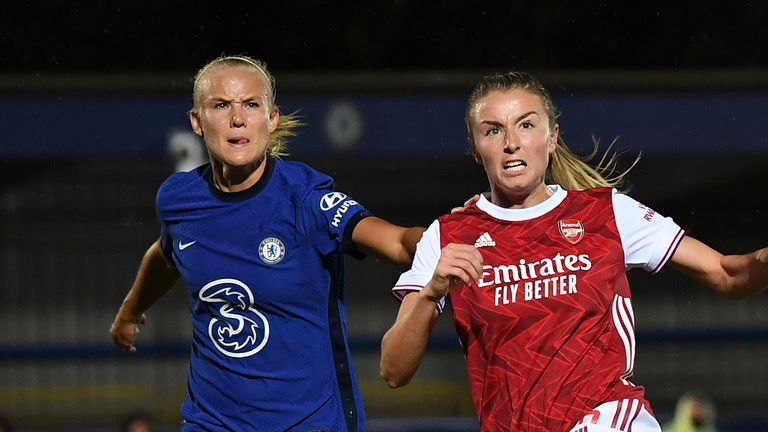 Arsenal Women and Chelsea Women have gone head-to-head in the last two Women's Super League title races