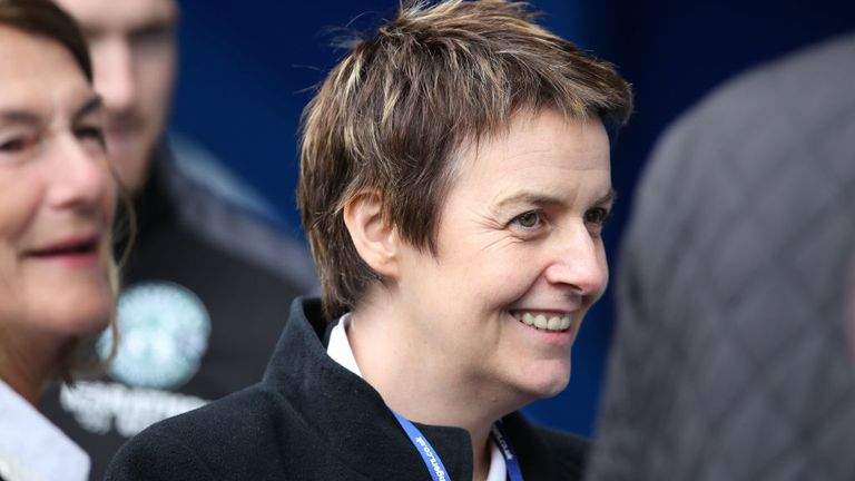 Leeann Dempster had been chief executive with Hibs for six years