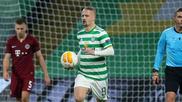 Leigh Griffiths scored his third of the season off the substitutes' bench