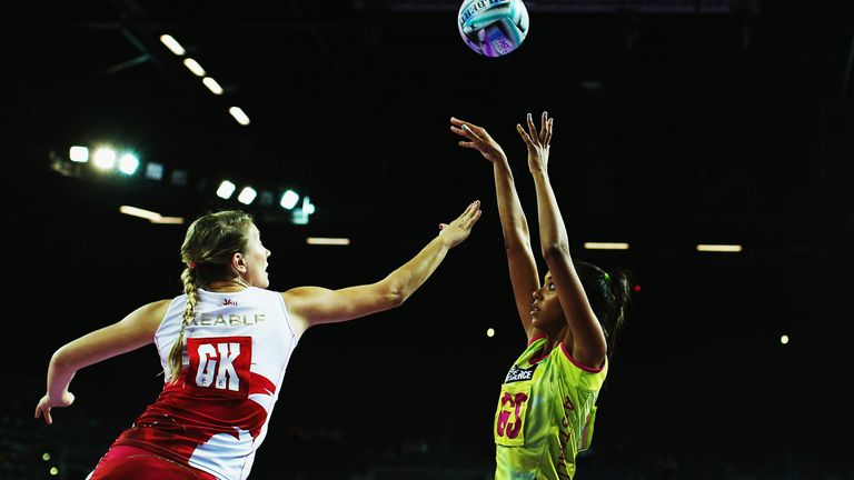 Keable has enjoyed a lengthy career so far; this moment is from 2013 when she represented England in New Zealand