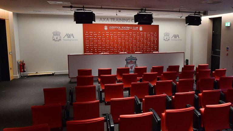 Media facilities at Liverpool's new training centre