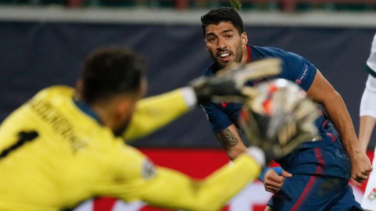 Guilherme shone as Lokomotiv Moscow held Atletico Madrid