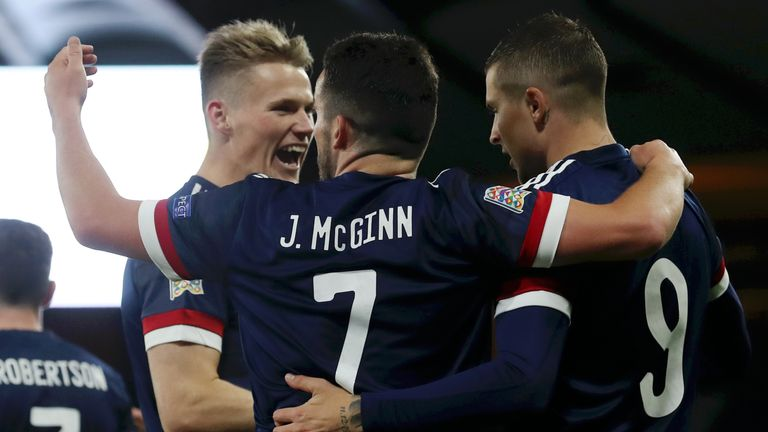 Lyndon Dykes is hoping to be a hero as Scotland try to qualify for Euro 2020