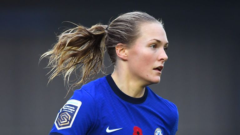 Magdalena Eriksson was named Chelsea Women captain ahead of the 2019/20 campaign