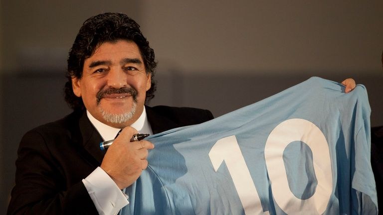 10 Diego Maradona