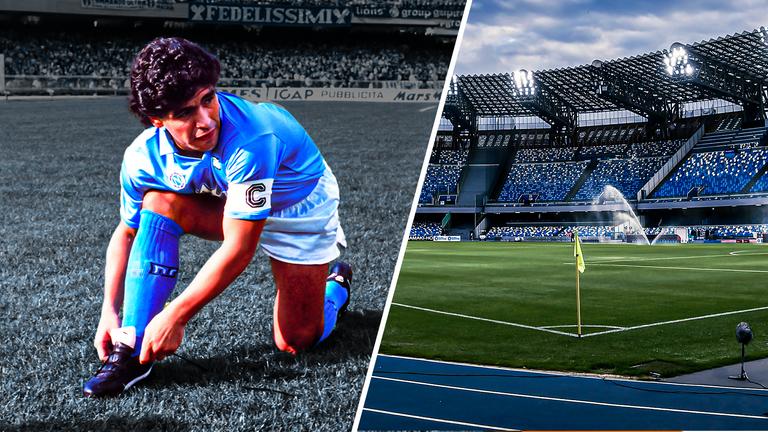Diego Maradona Napoli Will Rename San Paolo Stadium To Diego Armando Maradona Football News Sky Sports