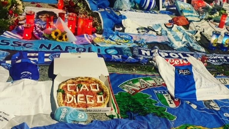 Diego Maradona: How Naples has mourned its football 'god' | Football News